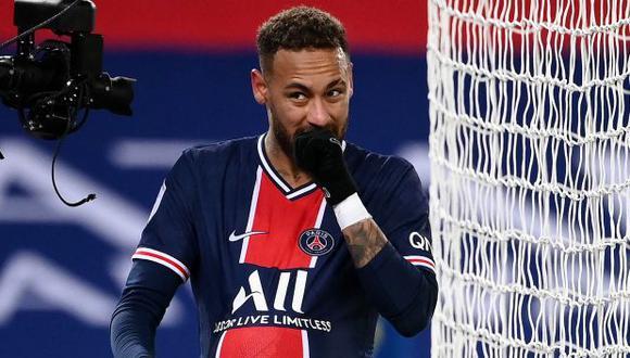 Neymar no pudo estar presente en el Barcelona vs. PSG por la Champions debido a una lesión. (Foto: AFP)