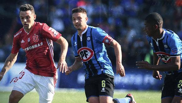 Universidad de Chile cayó 2-1 ante Huachipato por la jornada 1 del Torneo Nacional 2020. (Foto: Twitter)