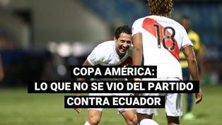 Selección peruana: estas son las mejores imágenes del partido contra Ecuador