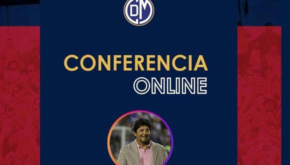 Rivera dará conferencia virtual.