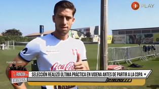 Selección peruana: Santiago Ormeño se entrena por separado