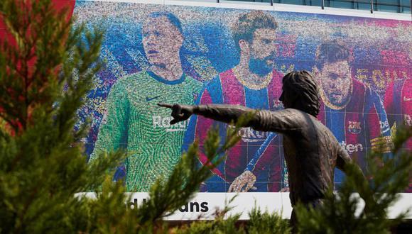 El Barcelona está en busca de más patrocinios para equilibrar las finanzas. (Foto: EFE)