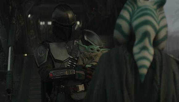 Ahsoka Tano con Grogu podría crear una nueva Orden Jedi junto a Skywalker (Foto: Disney Plus)