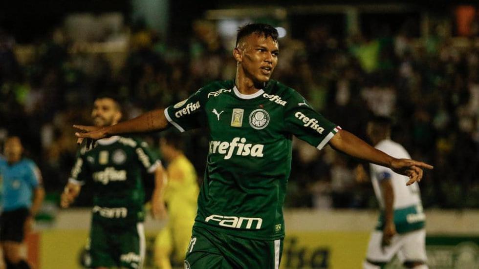 Gabriel Verón - Palmeiras (Photo: Agencies)