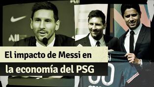 Nuevos contratos y más camisetas vendidas: El impacto de Lionel Messi en la economía del PSG