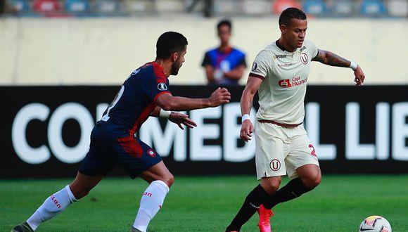 Universitario empató 1-1 con Cerro Porteño por la Copa Libertadores. (Foto: Daniel Apuy / GEC)