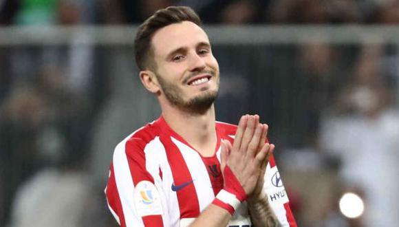 El próximo destino de Saúl Ñíguez estará en la Premier League. (Foto: Getty)