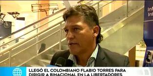 Flabio Torres asume riendas de Binacional