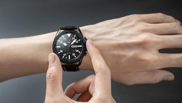 El nuevo Samsung Galaxy Watch 3 permite controlar la música, tomar fotos, contestar llamadas, entre otros. (Foto: Samsung)