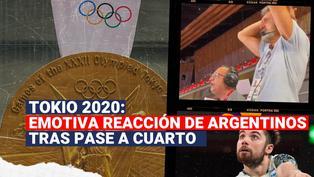 Tokio 2020: mira el emocionante relato argentino tras pase a cuartos en voley masculino