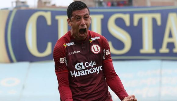 Federico Alonso quiere estar en la final con Universitario de Deportes. (Foto: Liga 1)