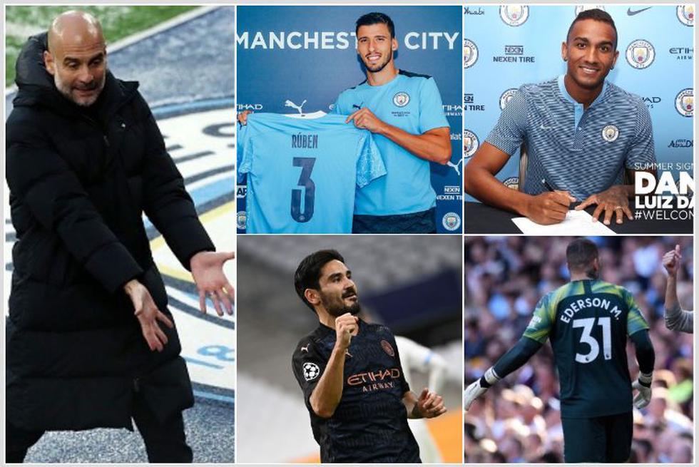 Los fichajes más caros de Guardiola en el City.