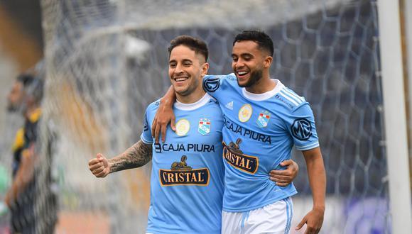 Alejandro Hohberg y Jhon Marchán, incluidos en la lista de viajeros de Sporting Cristal.  (Foto: Liga 1)