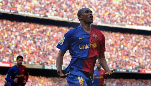 En España, Samuel Eto'o defendió las camisetas del Real Madrid, Barcelona y Mallorca.