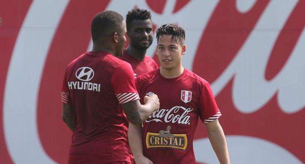Cristian Benavente ya trabaja con la Selección Peruana. (USI)