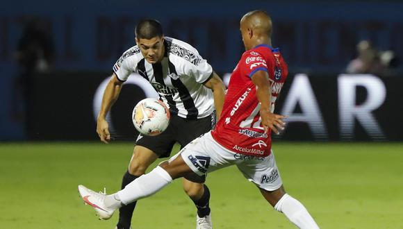 Libertad derrotó 3-1 a Jorge Wilstermann por los octavos de final de la Copa Libertadores. (Foto: AFP)