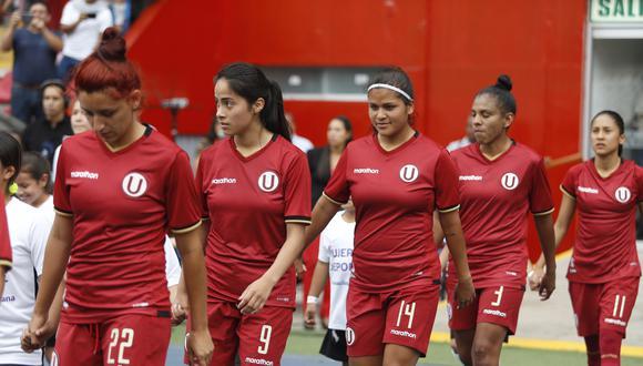 Universitario de Deportes es campeón nacional en fútbol femenino. (Foto: GEC)