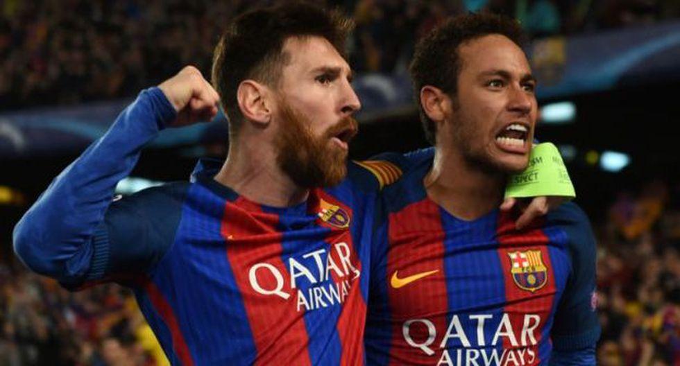Messi y Neymar formaban la 'MSN' en Barcelona con Luis Suárez. (Foto: Getty)
