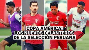 Selección Peruana: Esta es la renovada delantera de la Blanquirroja para la Copa América 2021