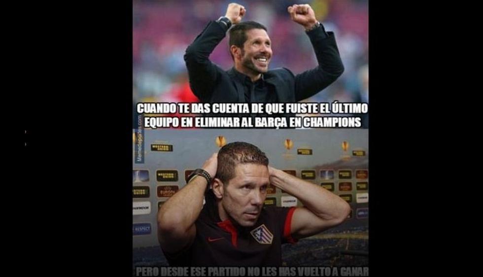 Barcelona vs. Atlético de Madrid: memes calientan duelo de Champions