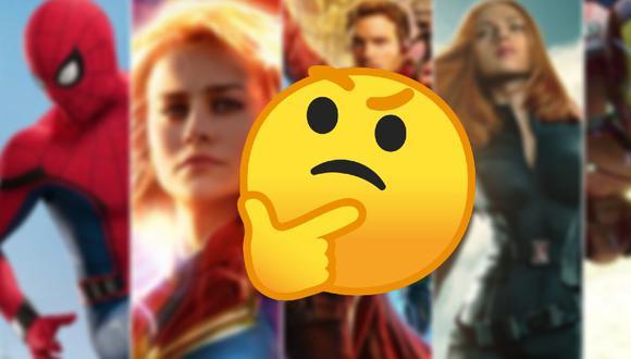 Orden cronológico de las películas y series de Marvel