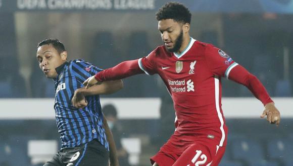 Joe Gomez tiene contrato con el Liverpool hasta junio de 2024. (Reuters)