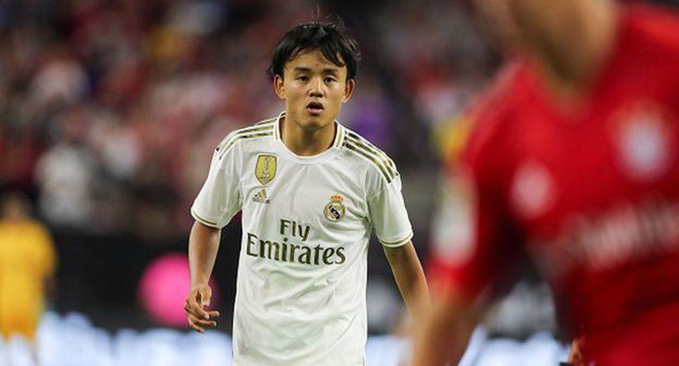 Take Kubo dejó Real Madrid