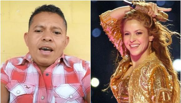 Hombre se vuelve viral en Tik Tok por cantar igual que Shakira. (Foto: @juank2384 y @shakira)