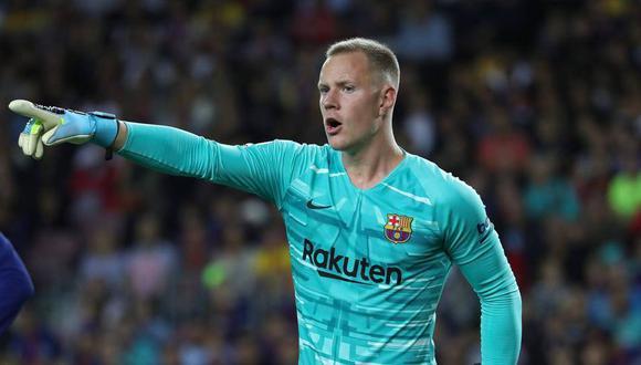 Marc-André ter Stegen fue convocado para el Barcelona vs. Dinamo Kiev de este miércoles. (Foto: AFP)