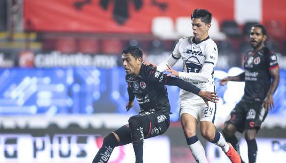 Tijuana y Pumas UNAM se enfrentaron en el debut del Torneo Clausura de la Liga MX. (Foto: Agencias)