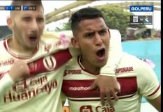 En el área, de '9': el gol de Alex Valera para el 1-0 en el Universitario vs. Binacional [VIDEO]