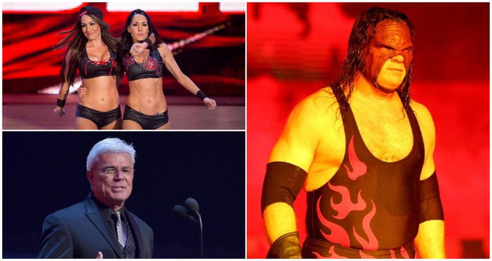 Todas las figuras que serán exaltadas al Salón de la Fama de WWE. (WWE)