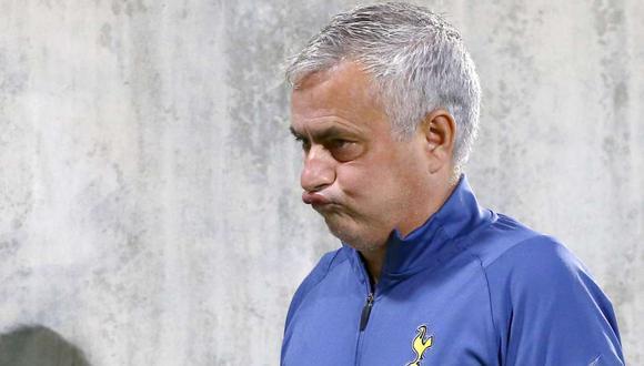 José Mourinho fue despedido de Tottenham. (Foto: AP)