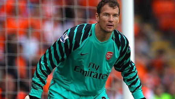 Jens Lehmann jugó en el Arsenal entre 2003 y 2008, y luego volvió en el 2011 para retirarse. (Getty)