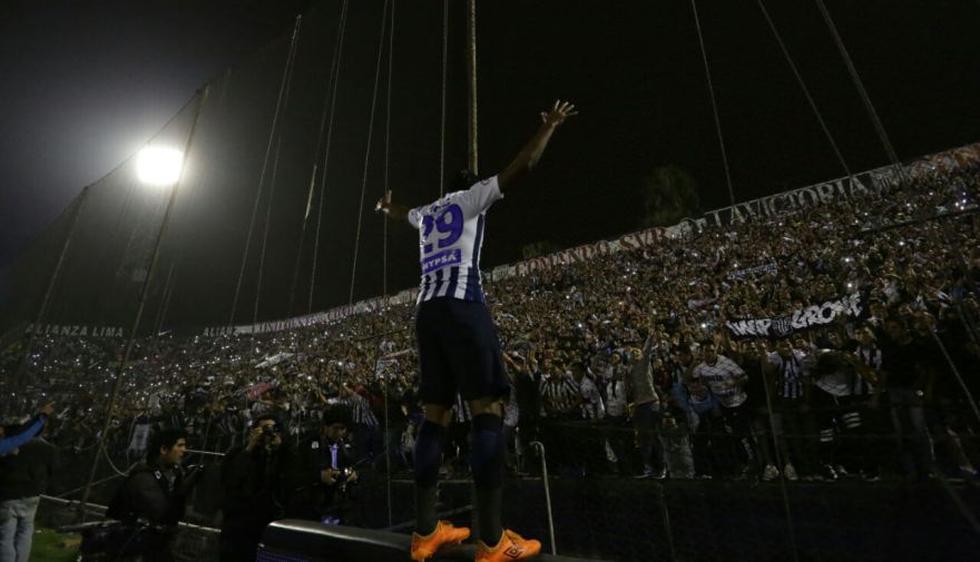 Imperdibles imágenes: así celebraron los jugadores el tanto de Godoy que le dio la victoria a Alianza Lima. (Fernando Sangama)