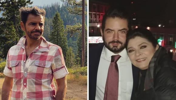 Eugenio Derbez y Victoria Ruffo no se dirigen la palabra desde que su relación acabó en 1997. (Foto: Instagram @ederbez @victoriaruffo).