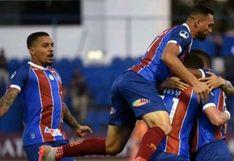 Nacional cayó 3-1 ante Bahía y quedó eliminado de la Copa Sudamericana 2020 en Asunción