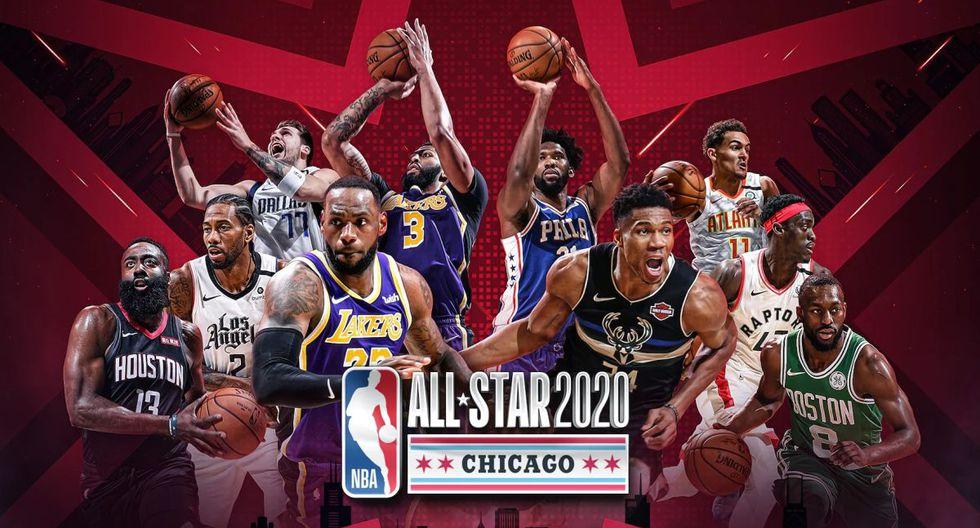 El NBA All Star Game 2020 será el plato fuerte de este evento. (Foto: NBA)