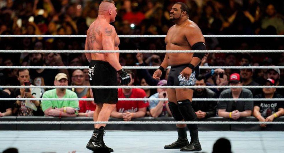 """Keith Lee: """"Soy uno de los pocos que pueden enfrentarse cara a cara con Brock Lesnar. (WWE)"""
