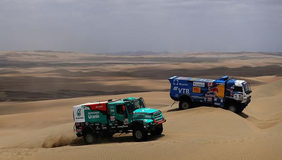 Nasser Al-Attiyah ganó el último Rally Dakar. (Getty Images)