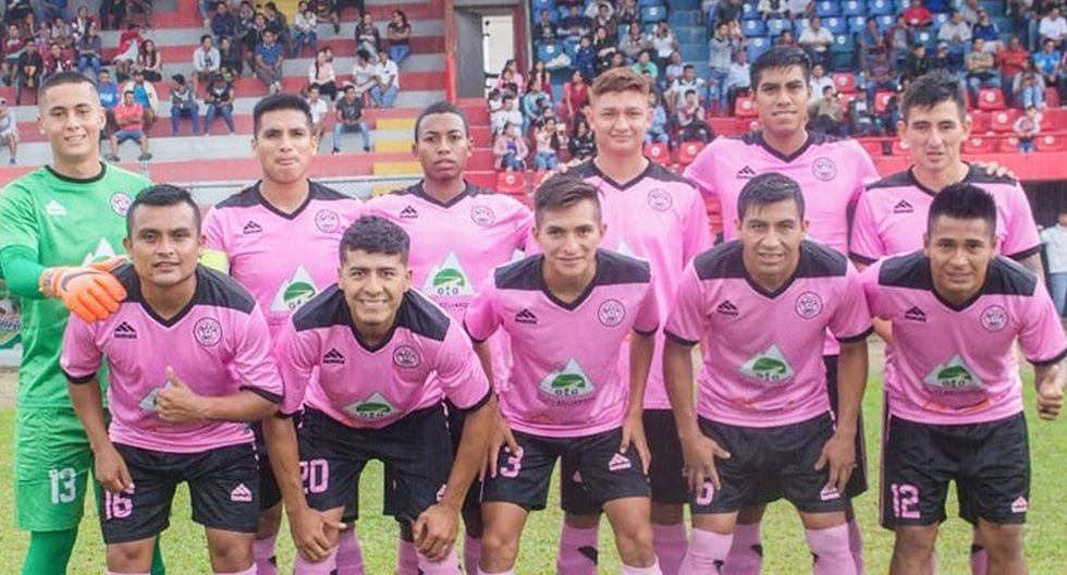 Copa Perú | Club Asociación Deportivo Tahuishco - San Martín (Foto: Facebook)