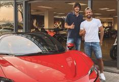 Sergio Agüero desmiente la compra de lujoso Ferrari [VIDEO]