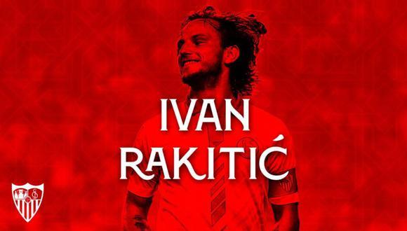 Rakitic dejó FC Barcelona. (Foto: Sevilla)