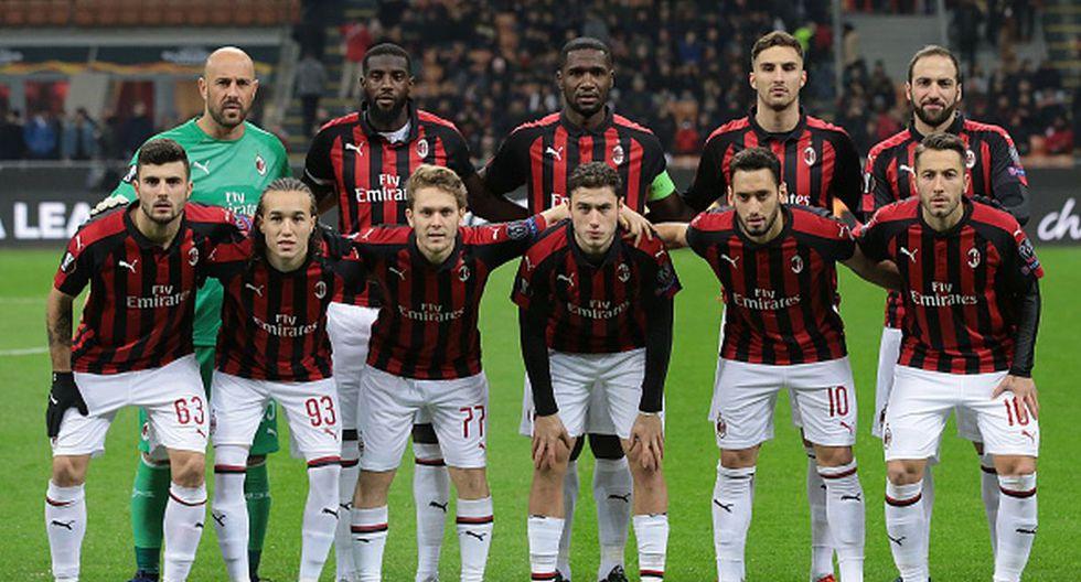 7 | Club: AC Milan | Deuda: 391 millones de euros. (Getty)