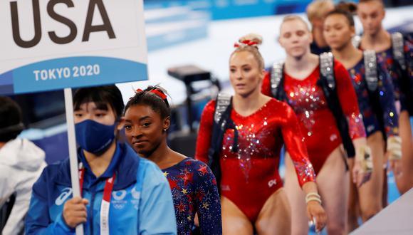 Comité Olímpico Ruso ganó la medalla de oro en gimnasia artística. (Foto: EFE)