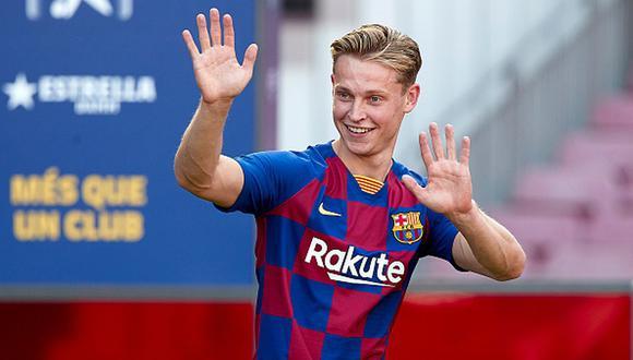 Frenkie De Jong llegó esta temporada al Barcelona procedente del Ajax. (Foto: Getty)