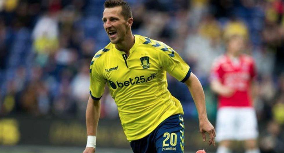 Kamil Wilczek | Brøndby IF | Goles: 14 | Puntos: 21. (Foto: Agencias)