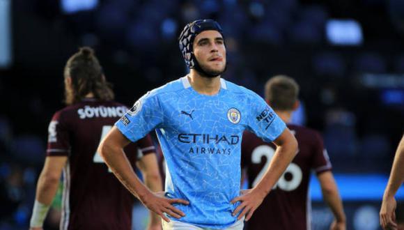 Eric García tiene contrato con el Manchester City hasta el verano de 2021. (Getty)