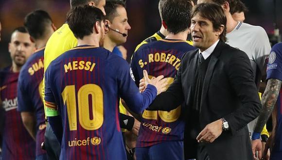 Conte despejó rumores sobre llegada de Messi (Foto: Agencias)