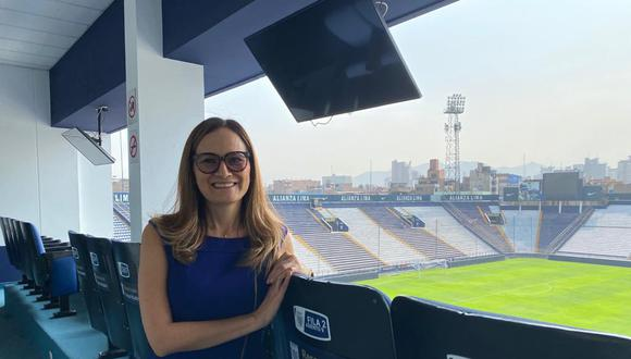 Kattia Bohórquez, gerenta general de Alianza Lima (Foto: difusión)